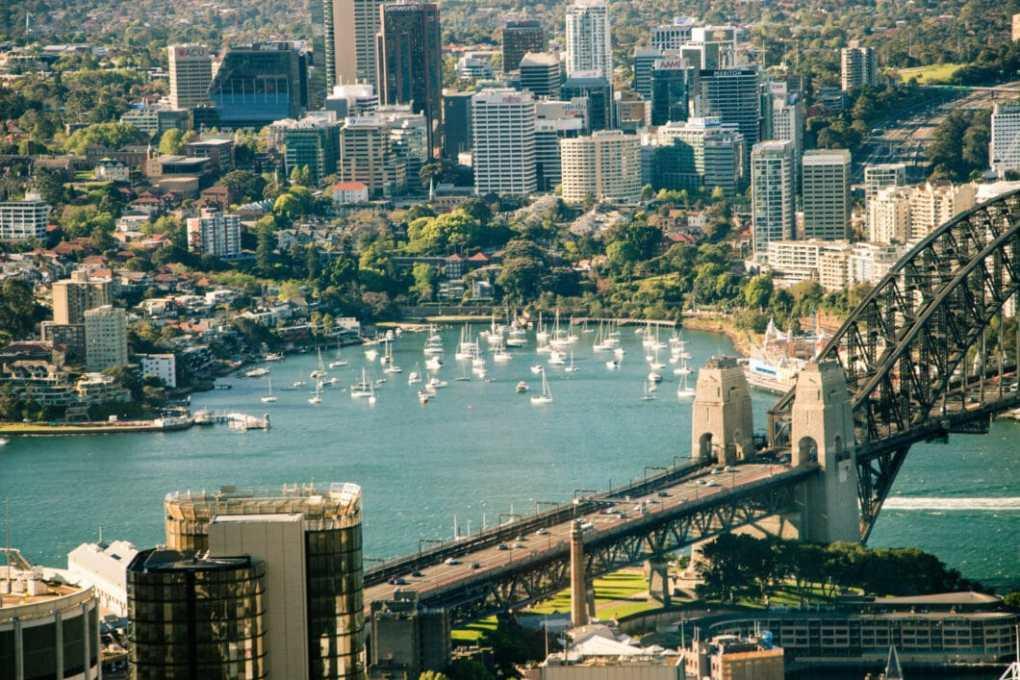 sydney sky tower view
