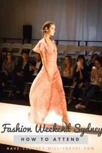 Fashion Weekend Sydney