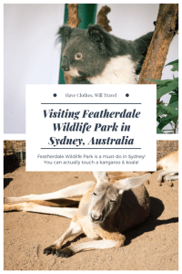 Visiting Featherdale Wildlife Park
