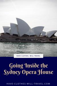 Going Inside the Sydney Opera House