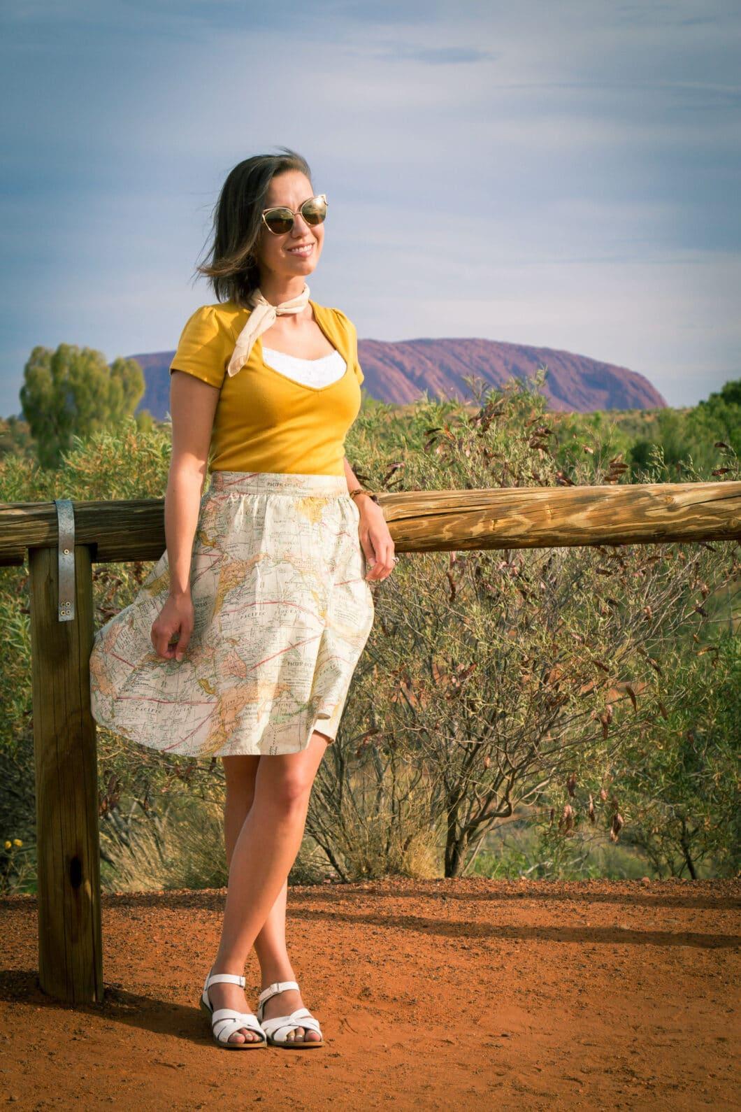 Map skirt retrolicious