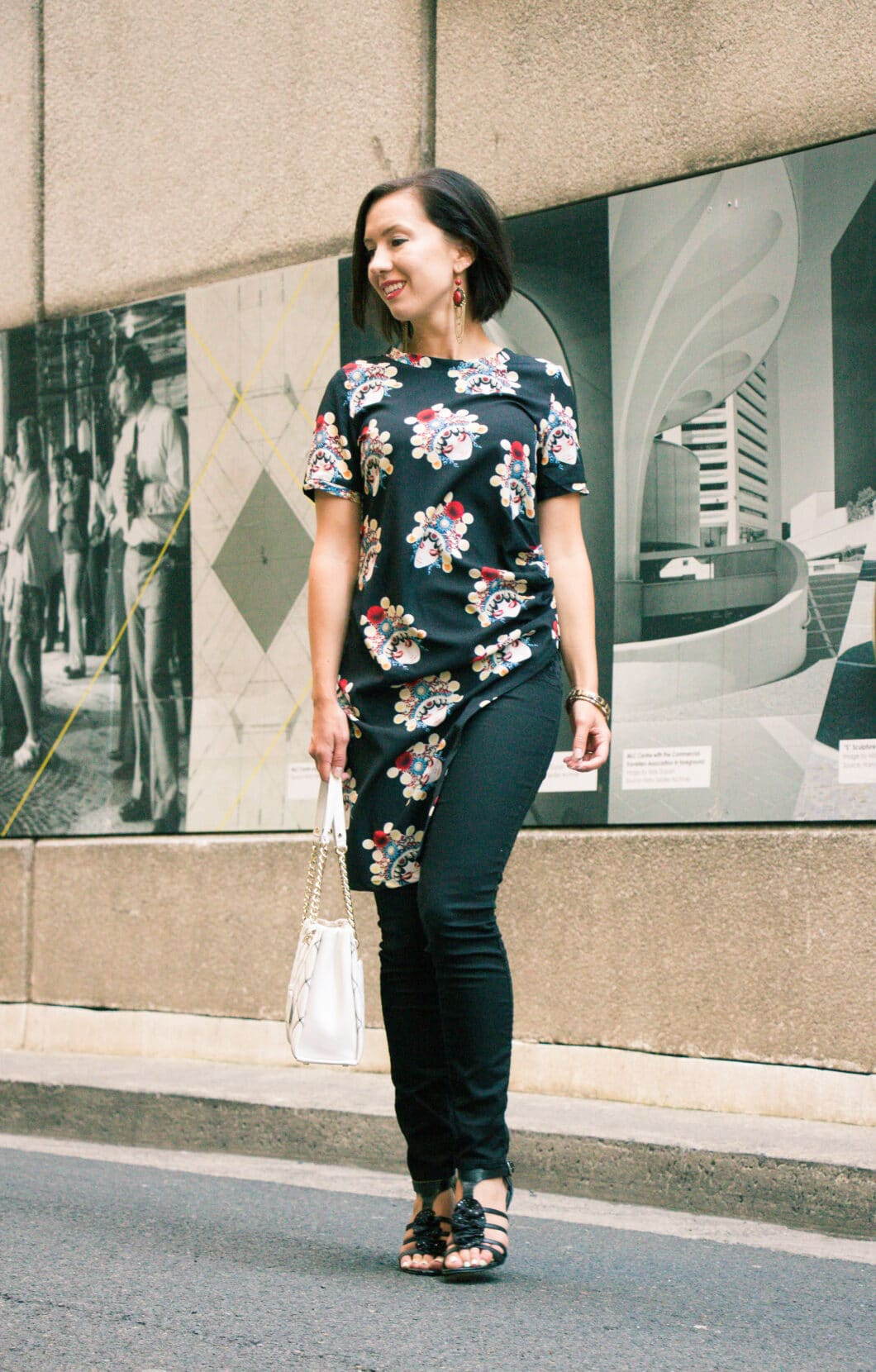 Trying an Asymmetrical Tunic From Stylewe