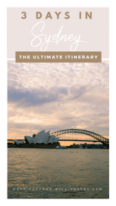 How to Spend 3 Days in Sydney - The Ultimate Itinerary