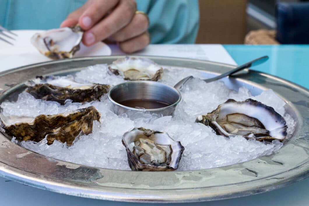 oysters at bondi icebergs