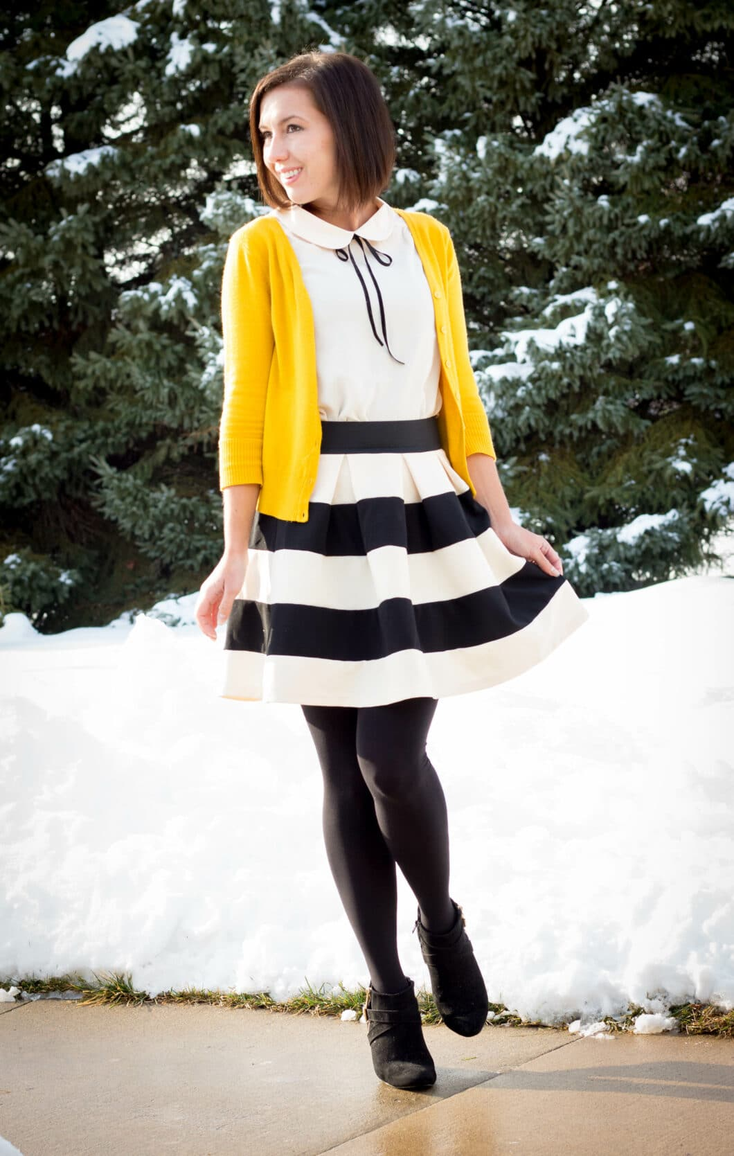 A Wintry Outfit