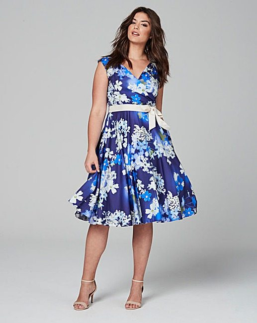 jd williams floral dress