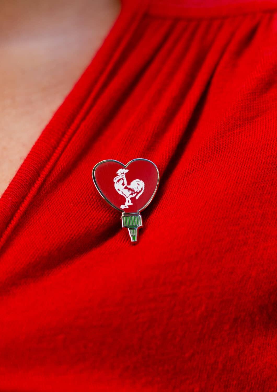 Sriracha pin