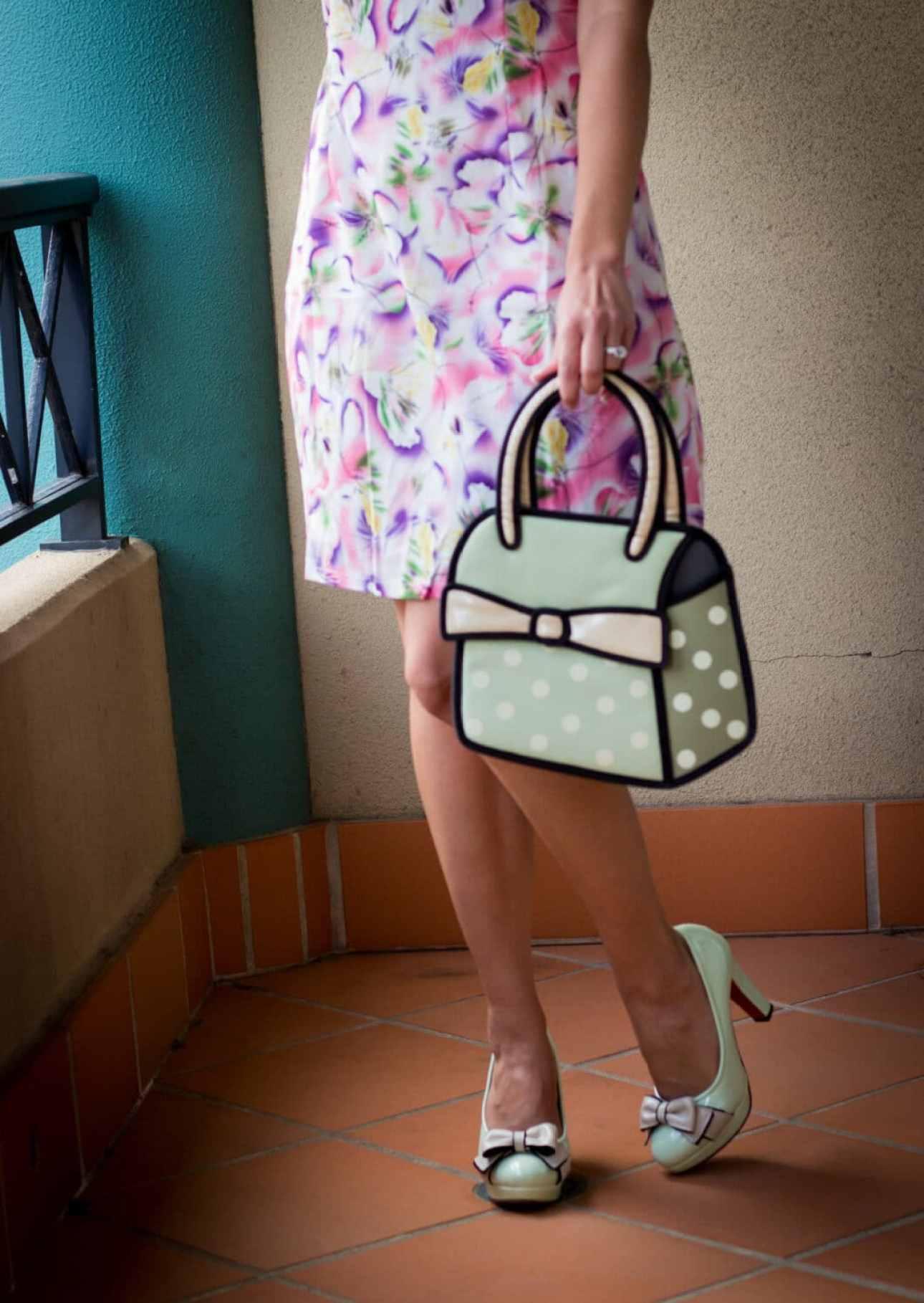 Jump From Paper Bag & matching heels