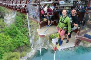 World Home of Bungy Jumping'- The Kawarau Bridge Bungy!