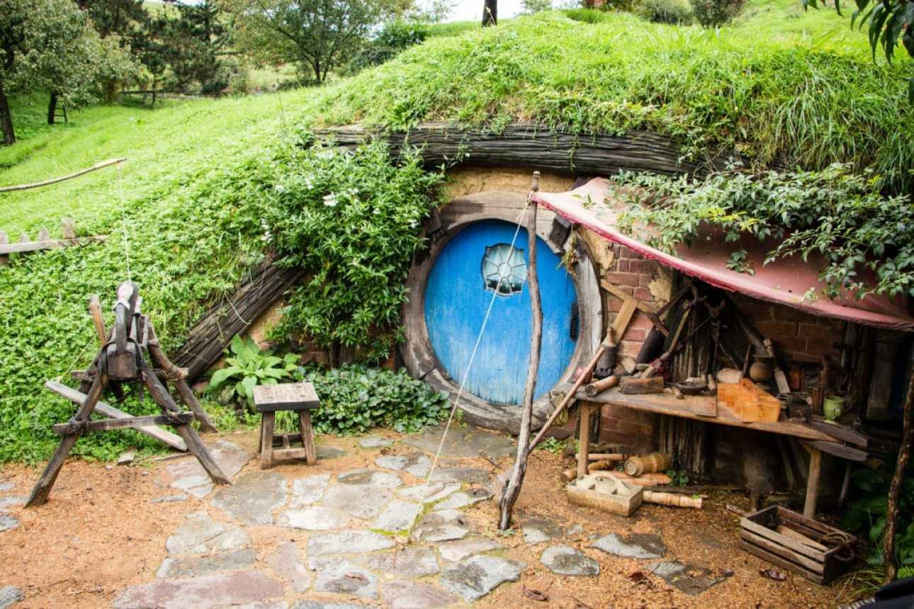 Hobbit hole, New Zealand