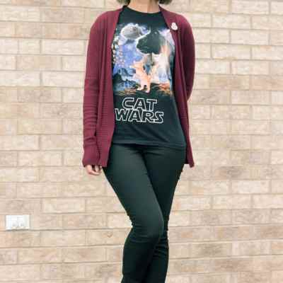 What I Wore for Star Wars Day