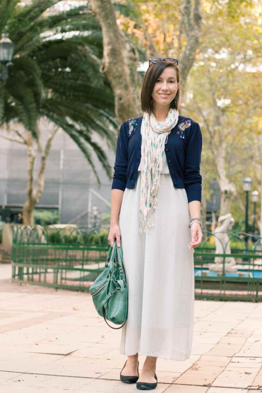 JustFashionNow long chiffon dress