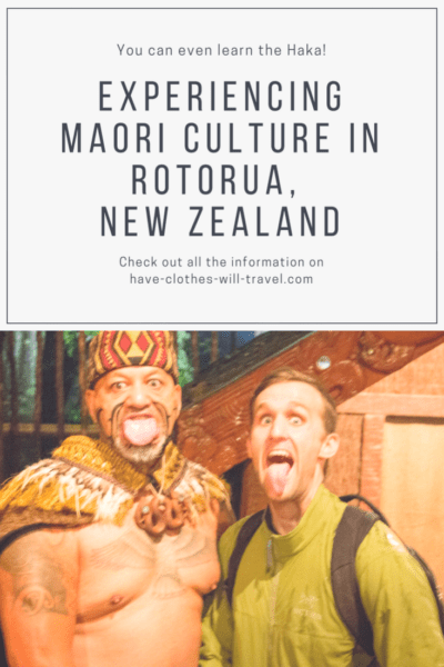 Maori Culture in Rotorua, New Zealand