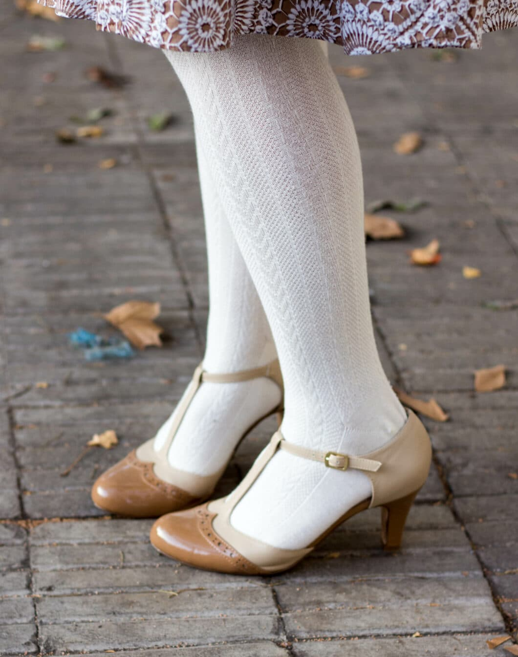 ModCloth heels and stockings