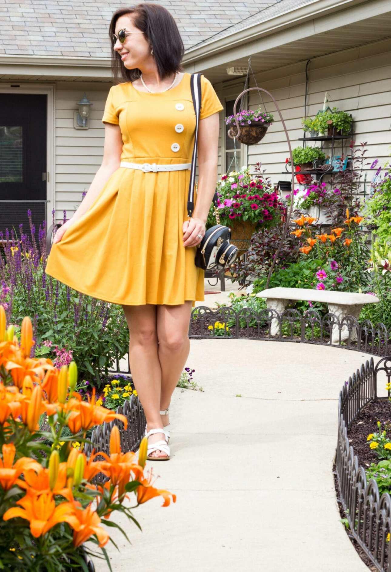 ModCloth Yellow Dress