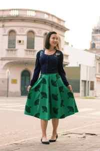 Tatyana Fan Skirt