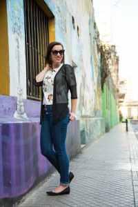 VIPMEshop cardigan & Judy Blue Jeans