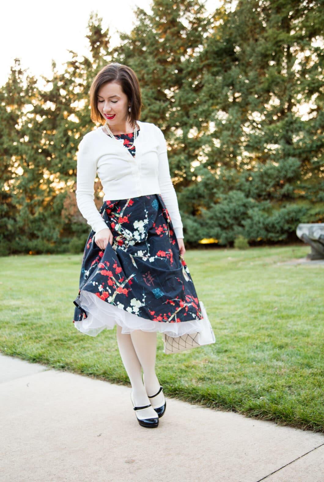 floral fashionmia dress
