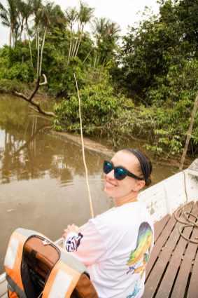 See, I fish! Haha.
