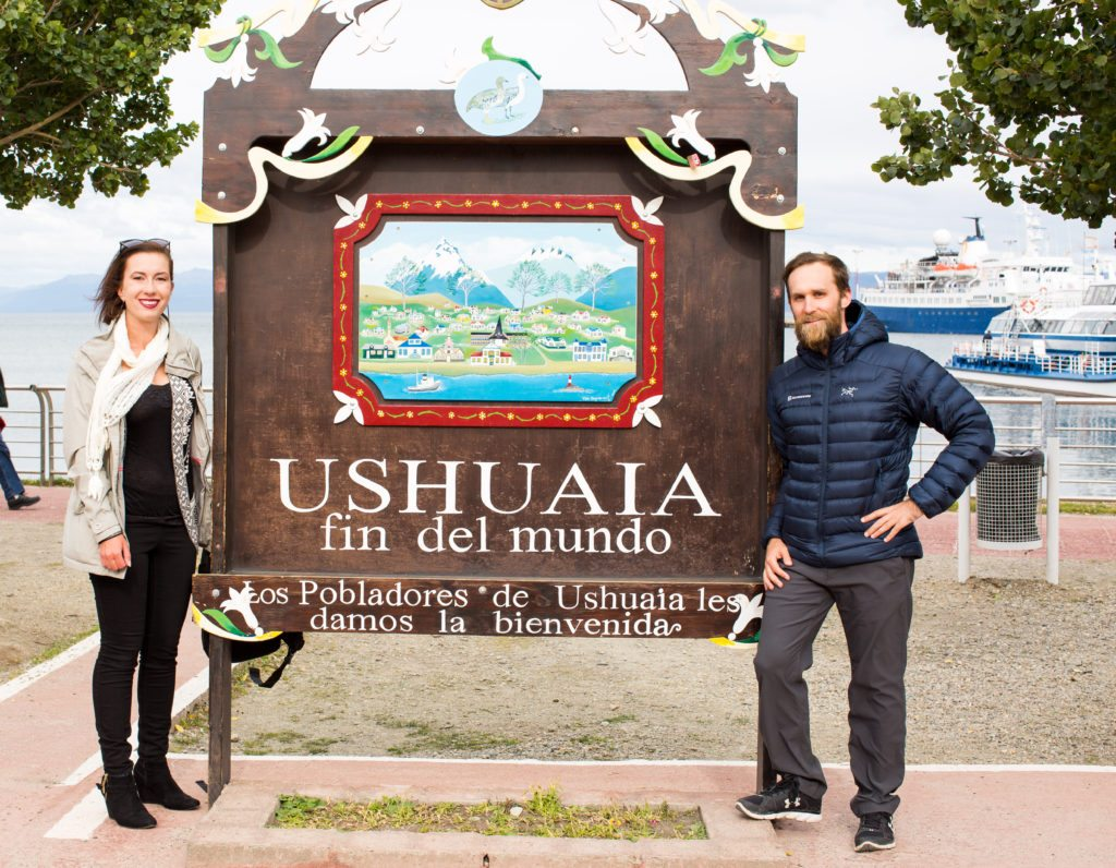 Ushuaia Argentina the Southernmost city in the world