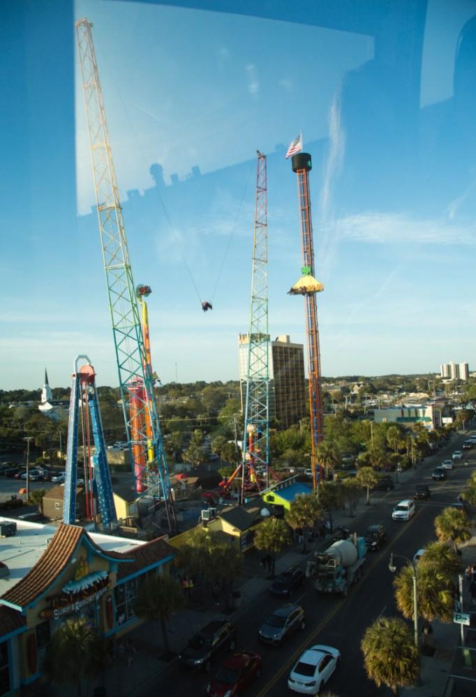 Myrtle Beach amusement park rides