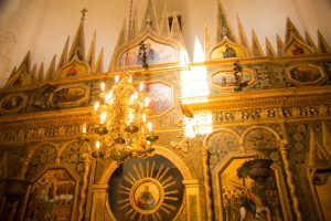 Inside St. Basil's Cathedral