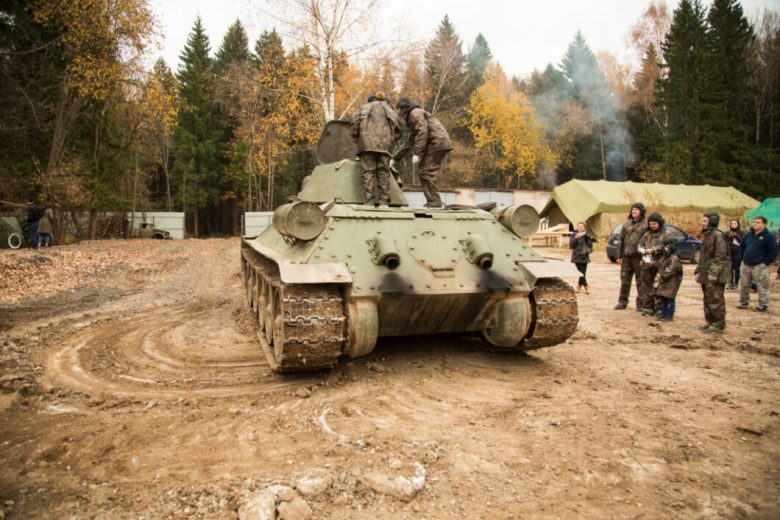 Russia Tank and Shooting Tour