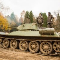 A T-34 Tank - You can actually ride this in Moscow, Russia