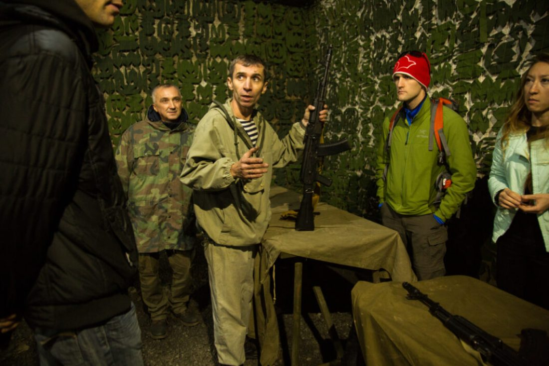 Tank Ride & Shooting Tour in Moscow, Russia