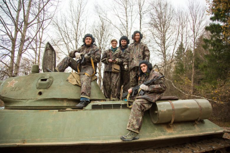 Tank Ride in Moscow Russia