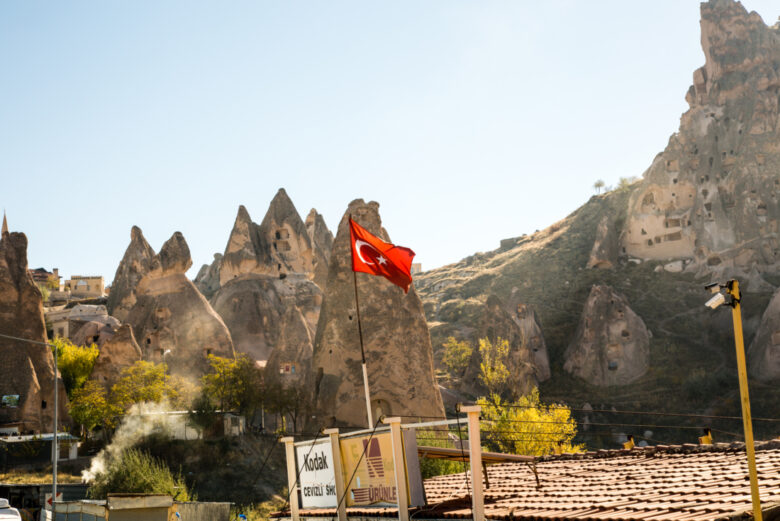 the red tour in cappadocia, Turkey