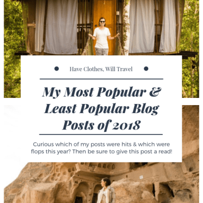 My Most Popular & Least Popular Blog Posts of 2018