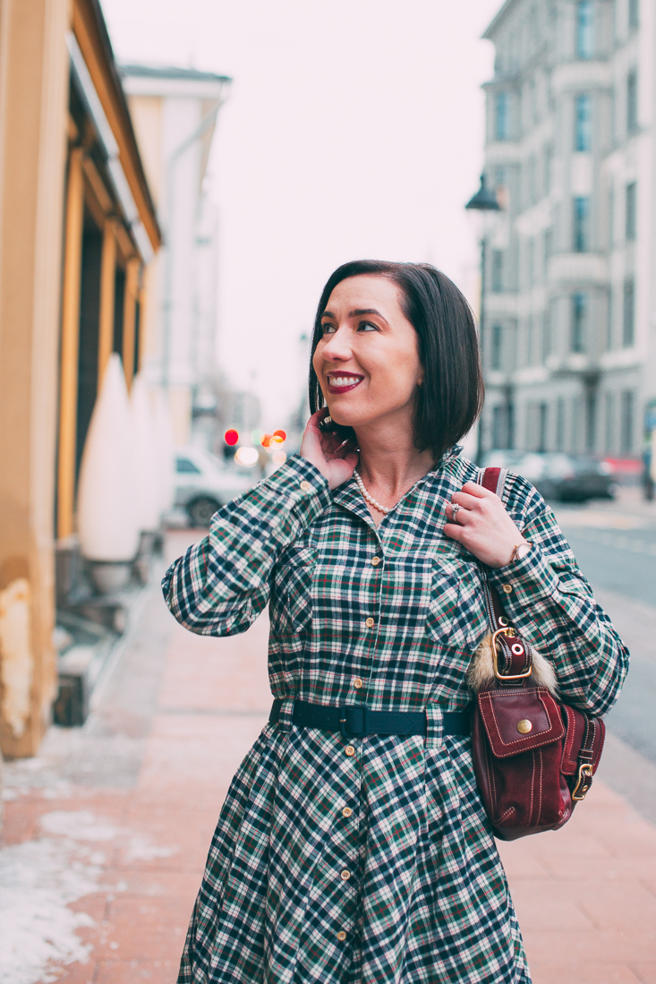Tatyana Boutique Miranda Flannel Dress