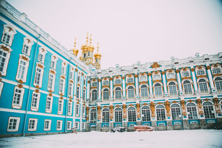 visiting Catherine palace