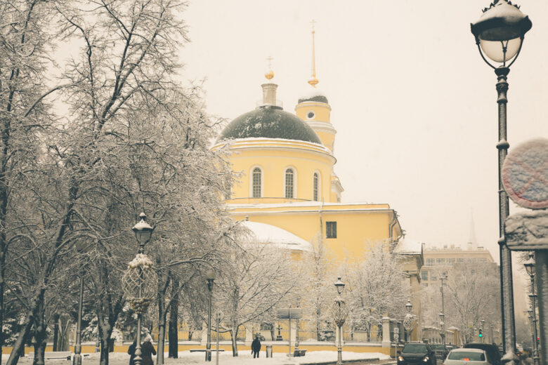 25 Dazzling Photos of Moscow, Russia During Winter
