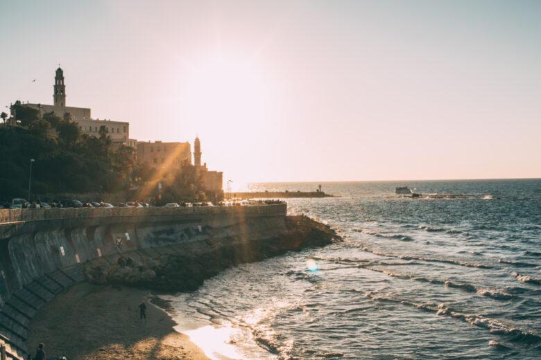 Old Jaffa sunset
