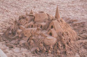 Quite the sandcastle!