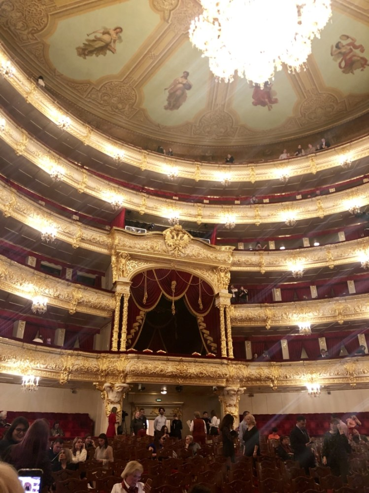 Inside the Bolshoi Theatre