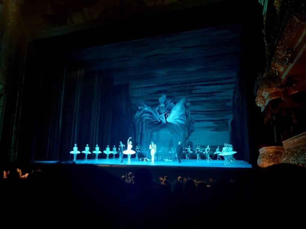 Swan Lake at the Bolshoi Theatre
