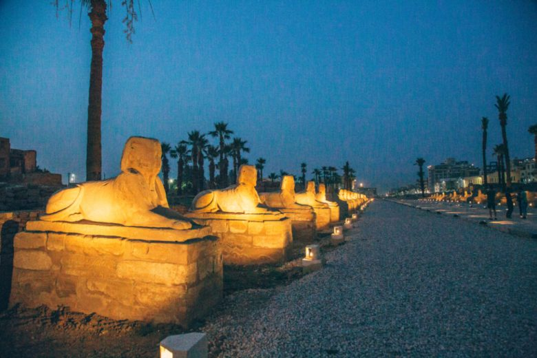 The Avenue of the Sphinxes (Luxor)