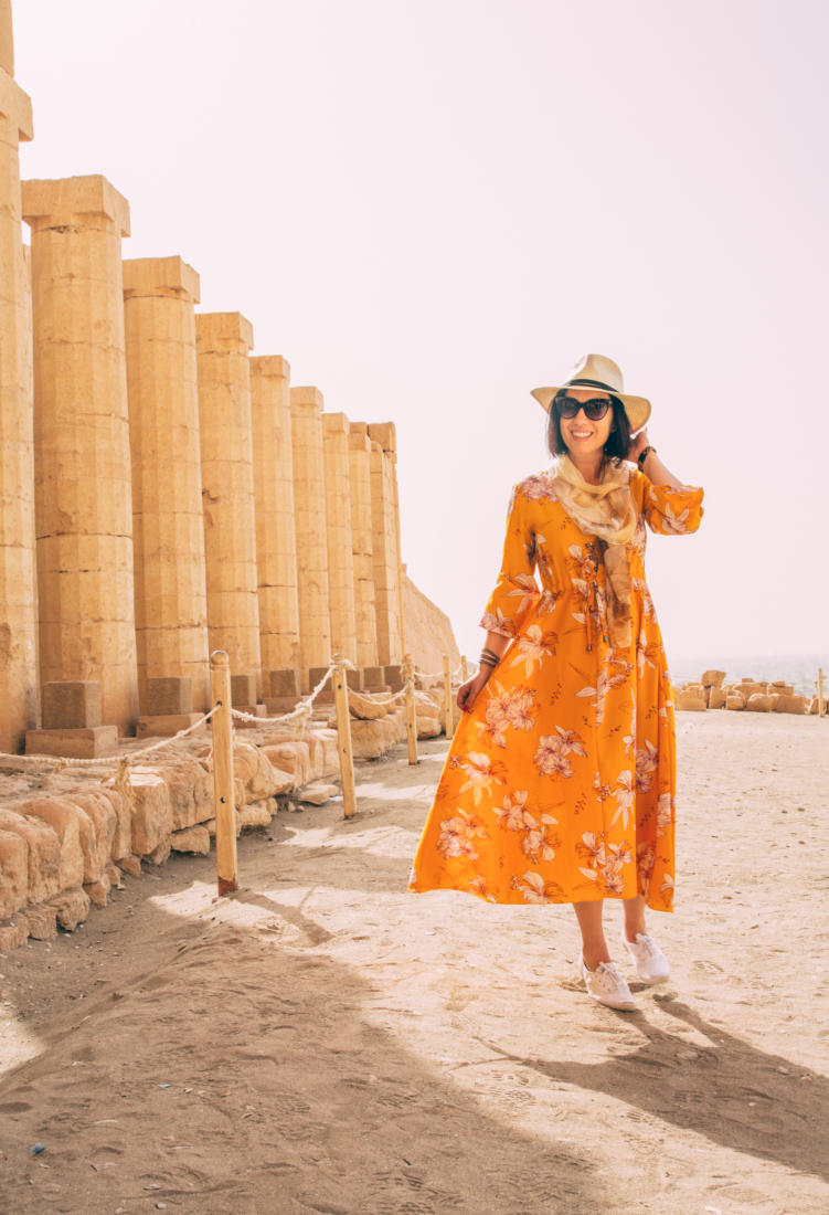 How to Dress Comfortably Yet Stylishly for the Heat in Luxor, Egypt