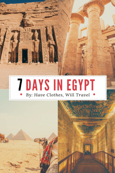 How to Spend 7 Days in Egypt – The Ultimate Itinerary