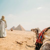 Behind the Scenes of My Pyramids of Giza Photos