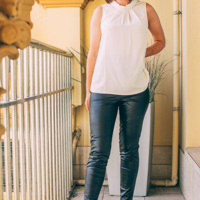 Trying Trends – Faux Leather Leggings & Athleisure