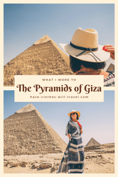 What I Wore to the Pyramids of Giza