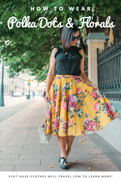 Pattern & Print Mixing – How to Wear Polka Dots & Florals Together
