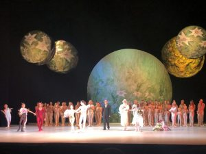 The New Stage - Creation of the World performance