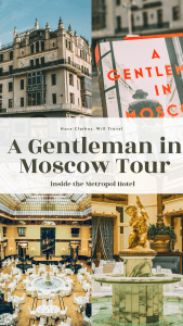 """A Gentleman in Moscow"" Tour of the Metropol Hotel"
