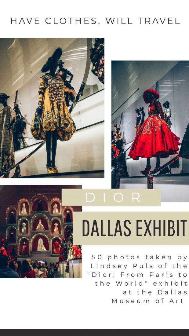 50 Photos of the Stunning Dallas Dior Exhibit