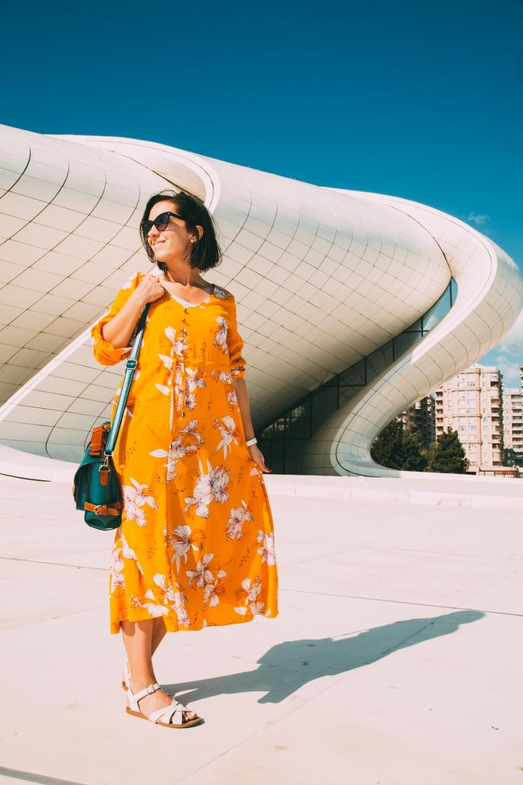 What I Wore to Explore Baku, Azerbaijan